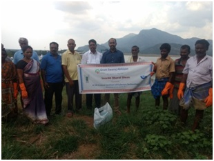 Swachh Bharat Abiyaan at Puducherry and Aliyar Reservoir Region