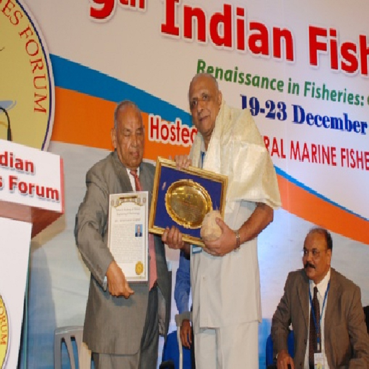 Dr. T.K. Srinivasa Gopal gets F.ASET Fellowship for outstanding contributions in Fish Processing Technology