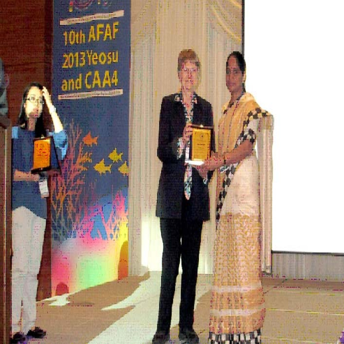 Recognition to Dr. Nikita Gopal, CIFT, Cochin