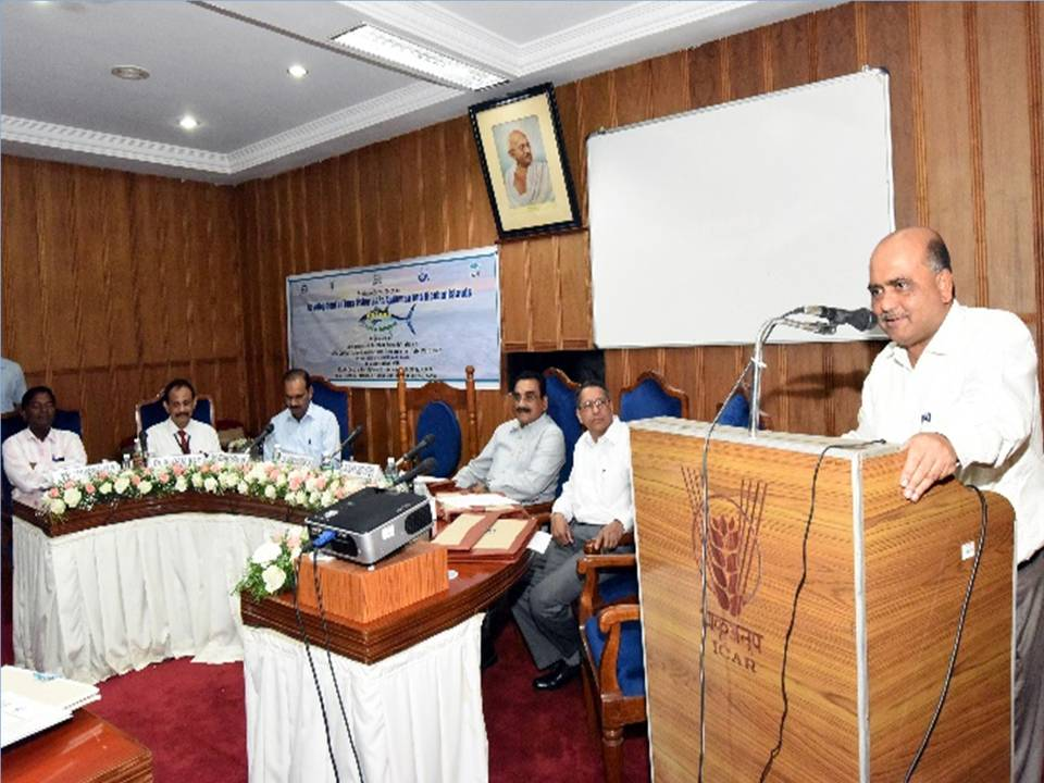 ICAR CIFT hosted ' Stakeholders Meet to Promote Fisheries in Islands' for A&N Administration