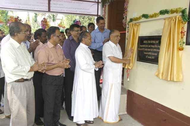 Model Fish Drying Unit Inaugurated