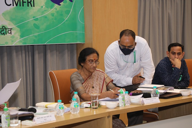 Second Committee of Parliament on Official Language inspected ICAR-CIFT