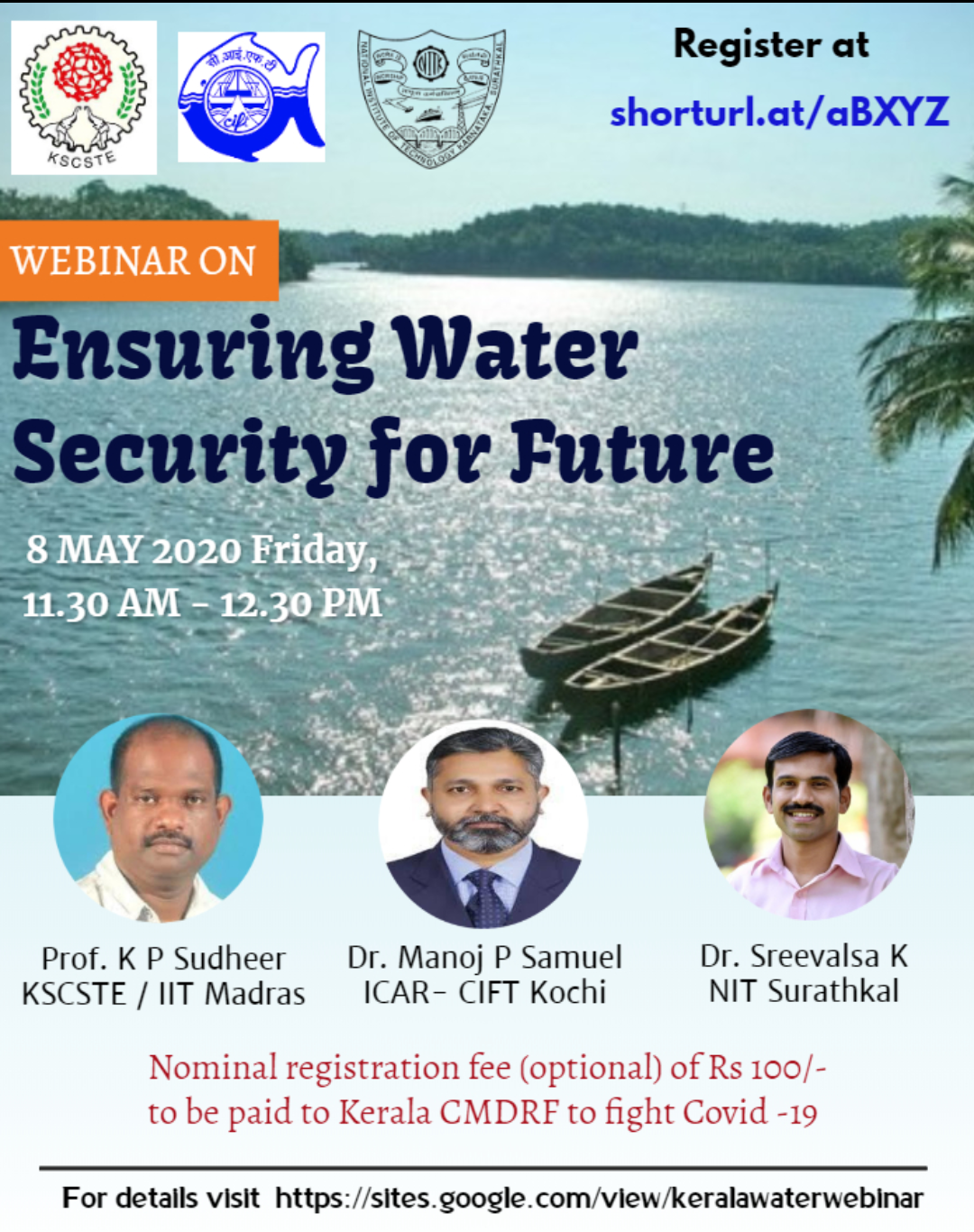 Webinar on Ensuring Water Security for Future