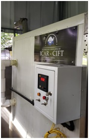 ICAR-CIFT launched Solar Fish Dryer at Nayarambalam CDS, Ernakulam