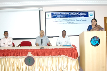"Awareness Creation Workshop on ""Advancements in Purse Seine Fishing in India"""