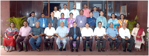 International Training at CIFT, Cochin
