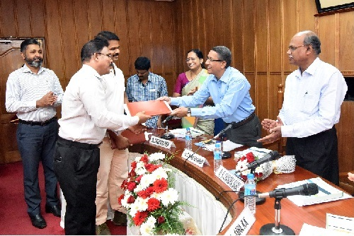 Tripartite Agreement Signing for Distribution of Fish Dryer