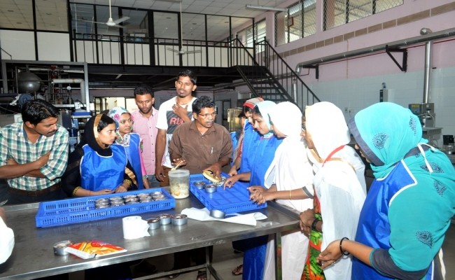 Training Programme on Fish Processing Technology
